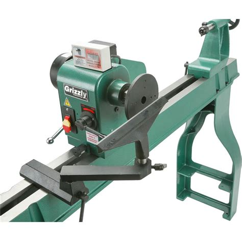 grizzly      wood lathe  dro