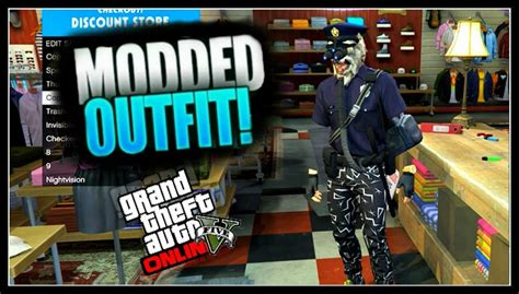 GTA 5 Online - How to Create a MODDED OUTFIT using Clothing Glitches *After Patch 1.31* #5 - YouTube