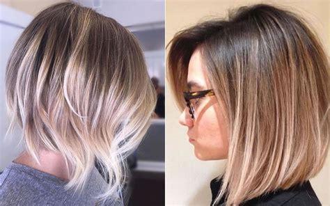 ombre haarfarben koennen sie mit kurzen frisuren versuchen