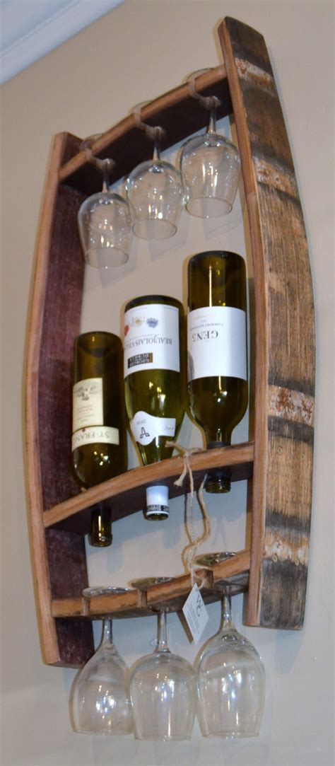 clever ways  adding wine glass racks   homes decor