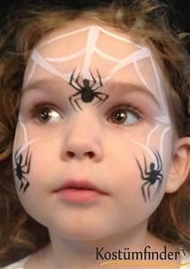Halloween Schmink Bilder : spinnennetz schminken schminkanleitung kind ~ Frokenaadalensverden.com Haus und Dekorationen
