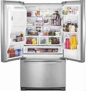 Whirlpool Wrf757sde 26 8 Cu  Ft  French Door Refrigerator