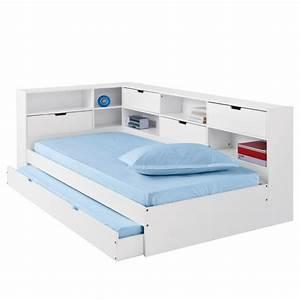 Ikea Lit Une Place : lit avec tiroir rangements et sommiers yann la redoute lit enfant la redoute ~ Preciouscoupons.com Idées de Décoration