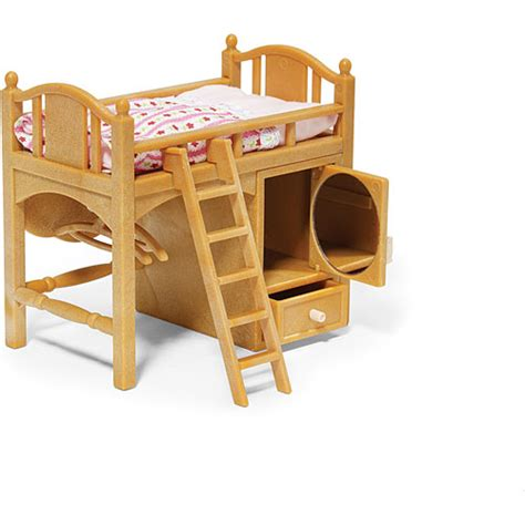 calico critters bunk beds calico critters s loft bed timbuk toys