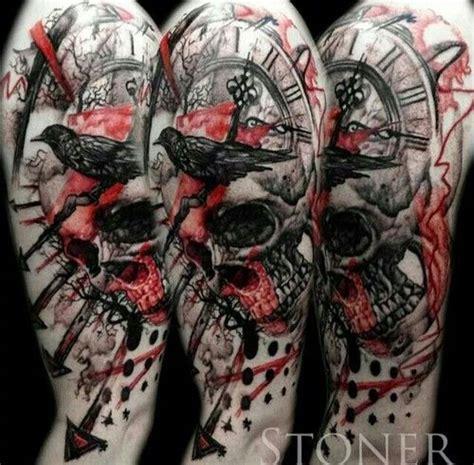 ideas  trash polka tattoo  pinterest trash polka tattoos  tattoo trash