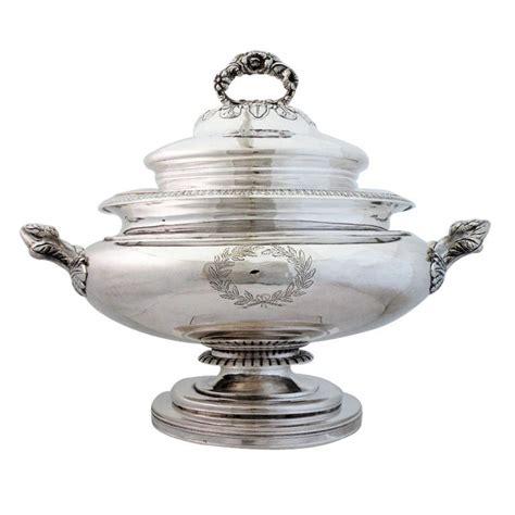 exceedingly rare      coin silver soup tureen