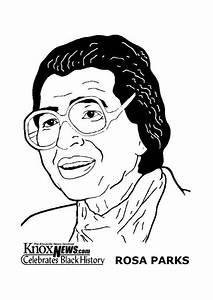 Malvorlage Rosa Parks Ausmalbild 14281
