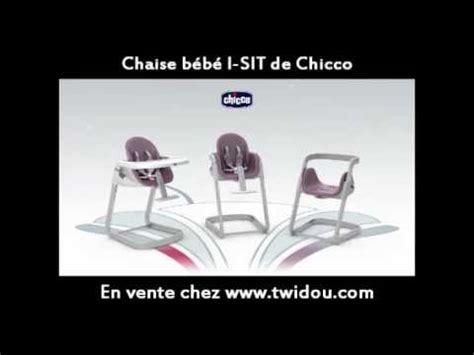 chaise bébé chicco chaise bébé chicco i sit 2012 en vente sur twidou com
