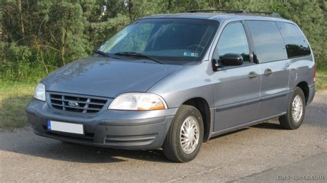Ford Minivan by 2001 Ford Windstar Cargo Minivan Specifications Pictures