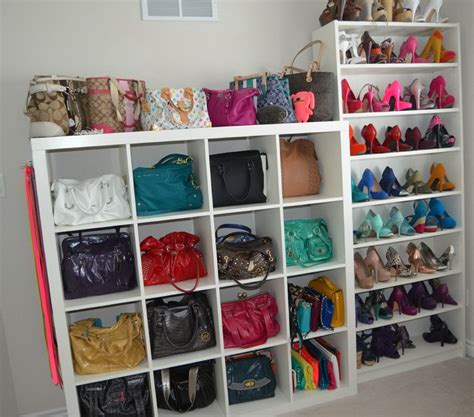closet handbag organizer purse organizer for closet ideas home design ideas