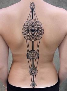 36 Best And Awesome Spine Tattoos For Women - Dzine Mag