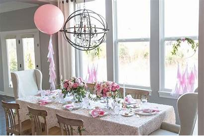 Decoration Brunch Mother Mothers Table Decorating Dining