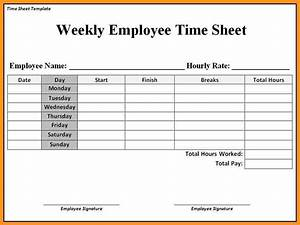 consultant time tracking template - employee timesheet templates