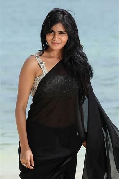 Samantha Saree Prabhu Ruth Navel Stills Latest