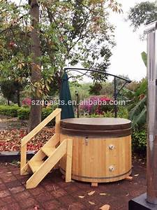 Cedar Hot Tub : round wooden bathtub with external heater for 6 8 person family use buy outdoor hot tub 6 8 ~ Sanjose-hotels-ca.com Haus und Dekorationen
