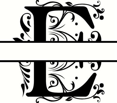 4 letter monogram decal monogram sticker personalized personalized monogram initial letter e family wall quote 44525