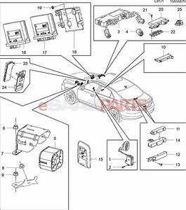 13502551  Saab Antenna