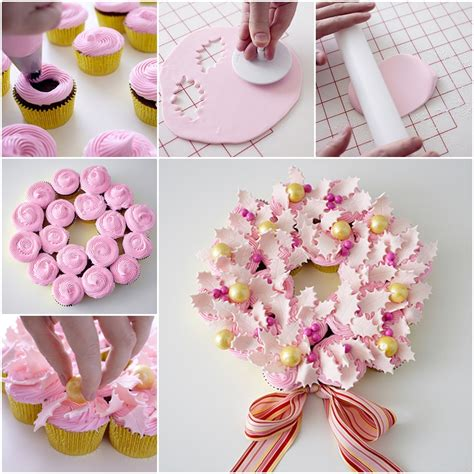 table decorations for birthday dinner diy cupcake wreath