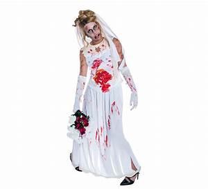 Déguisement Zombie Fait Maison : d guisement de mari e macchab e halloween pour femme plusieurs tailles ~ Melissatoandfro.com Idées de Décoration