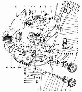 Toro 18212  Whirlwind Lawnmower  1968  Sn 8000001