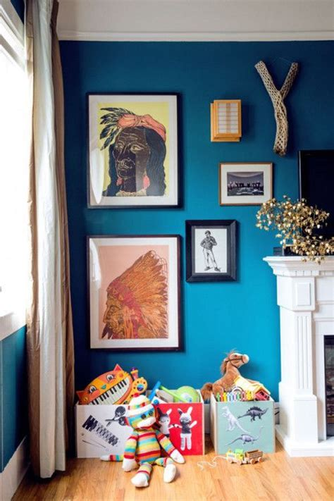 benjamin williams naples blue is the backdrop for