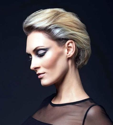 stylish designs   silver  white hair