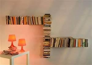 Decorar paredes con libros Paperblog