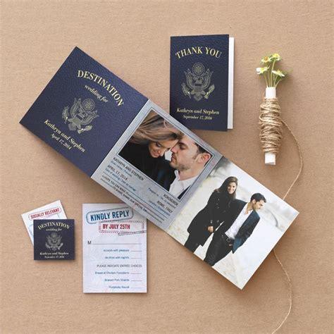 a destination wedding match your theme to your invitation suite it