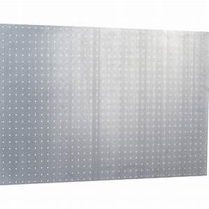 panneau perfore mottez h60 x l90 x p03 cm leroy merlin With salle de bain design avec tole perforée décorative sur mesure