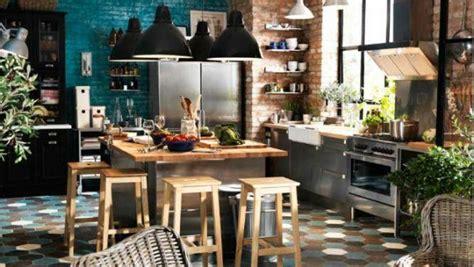 cuisines rustiques cuisine bistrot 23 idées déco pour un style bistrot