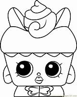 Coloring Shopkins Cake Flutter Strawberry Pages Shortcake Candy Kisses Printable Toys Coloringpages101 sketch template