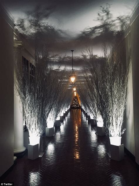 twitter drags melania  creepy white house decor