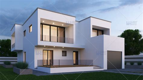 Proiecte De Casa by Proiect Casa Parter Etaj 187 Mp Herra