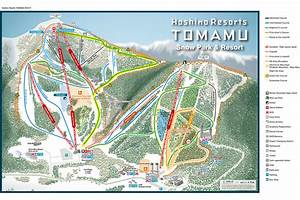 Tomamu Trail Map, Japan Ski Holidays » Deep Powder Tours