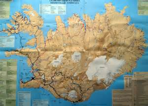 Golden Circle Route Iceland Map