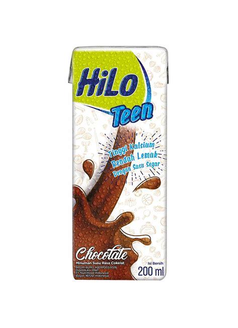 hilo teen susu cair uht chocolate tpk ml klikindomaret