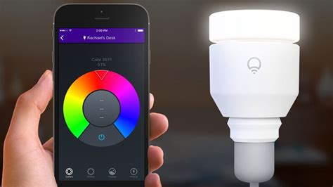 leading lights philips hue 2 0 v lifx smart bulbs
