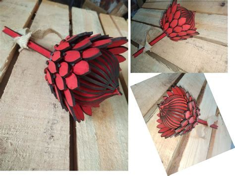 3D Laser cut Protea   Hello Pretty. Buy design.