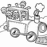 Steam Engine Coloring Surfnetkids Pages sketch template