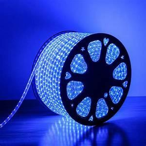 Flexible 80m Waterproof Led Strip Light Blue  80