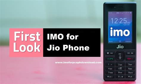 imo for jio phone free official version