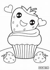 Coloring Cupcake Pages Food Cute Print Colouring Printable Drawing Sheets Cake Getdrawings Opportunities Nice Comments Preschool Coloringhome Getcolorings sketch template