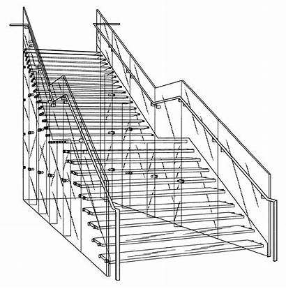 Drawing Staircase Stairs Drawings Steve Jobs Patent