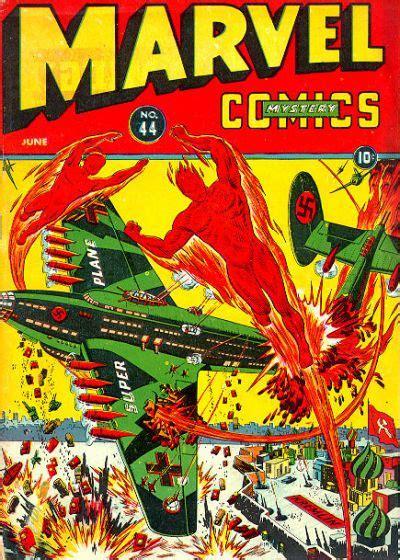 Marvel Mystery Comics #44 | Comics, Classic comic books ...