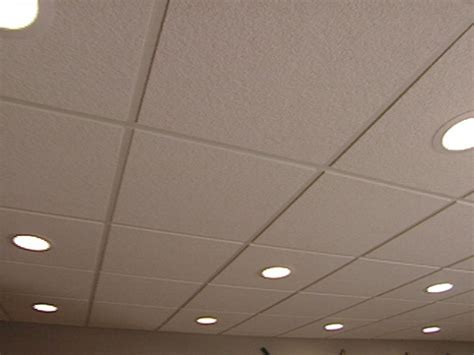 can lights for drop how to install an acoustic drop ceiling how tos diy