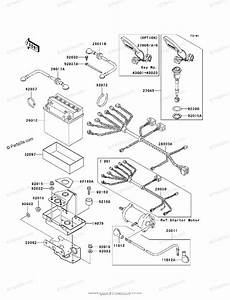 Kawasaki Jet Ski 1999 Oem Parts Diagram For Electrical