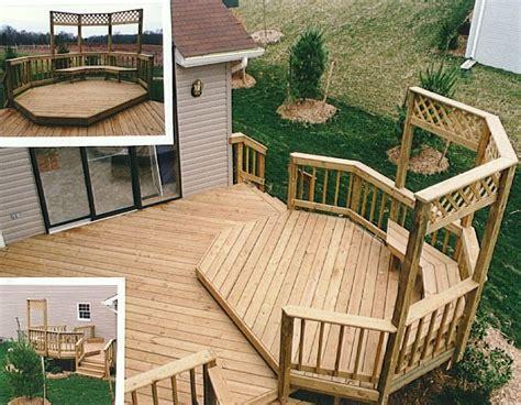 deck designs ideas for raised decks virginia decking