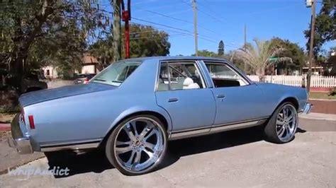 Sky Blue 79' Chevrolet Caprice On 26