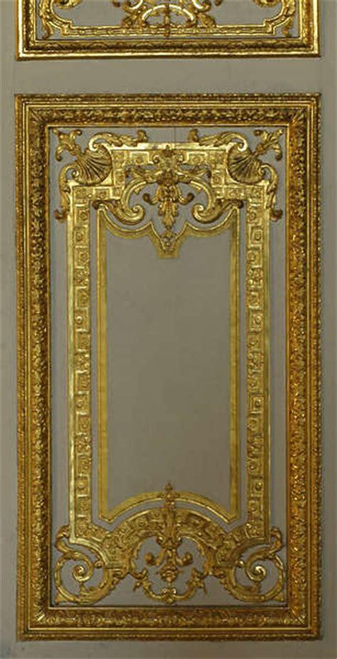gildedpanels  background texture ornament versailles panel door gold gilded yellow