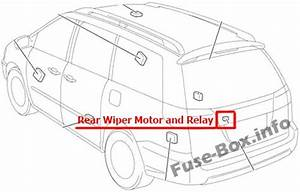 Fuse Box Diagram  U0026gt  Toyota Sienna  Xl20  2004